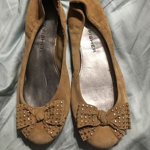 Marc Fisher Soft Suede Leather Flats 10M